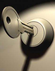 Serrure et clef Vak